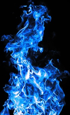 brilliant blue flame 05 hd pictures