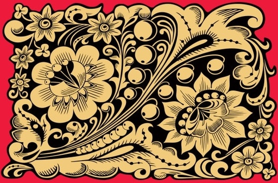 brilliant classical pattern 03 vector