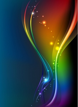 decorative background modern twinkling colorful dynamic light effect