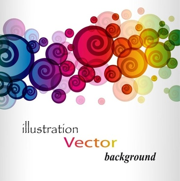 brilliant colorful loop pattern 01 vector