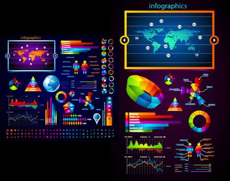 brilliant commercial elements vector graphic