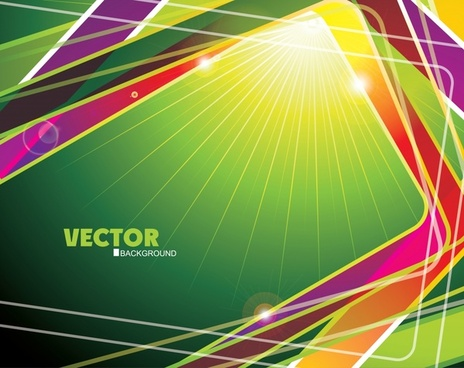 brilliant dimensional dynamic background vector