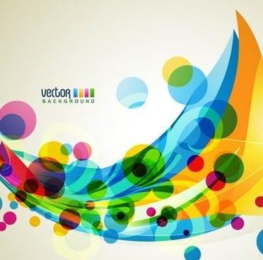 brilliant dynamic design background template vector 2
