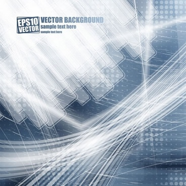 brilliant dynamic flow line background vector