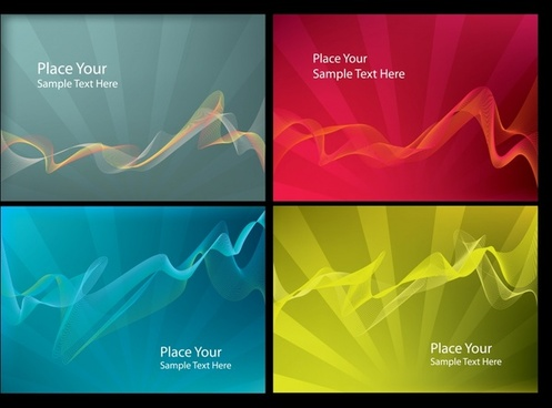 decorative backgrounds modern colored dynamic lines
