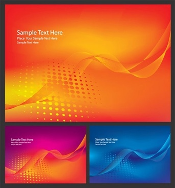 brilliant dynamic flow line card 01 vector
