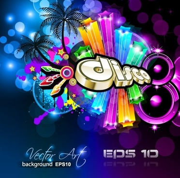 brilliant dynamic musical elements 04 vector