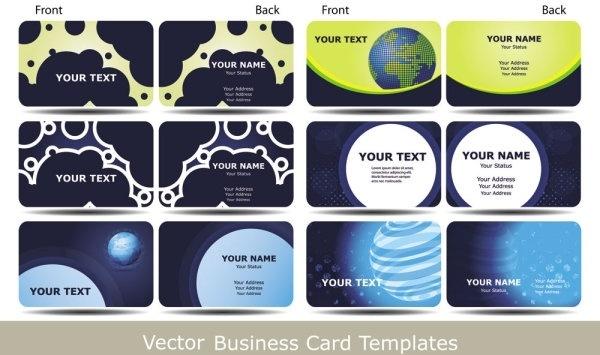 brilliant dynamic pattern card 03 vector