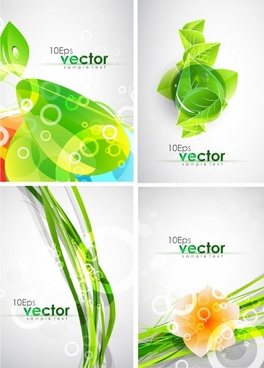 nature background shiny modern green leaf flora decor