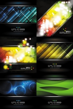 brilliant light background vector