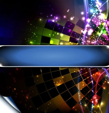 light effect background dark modern sparkling dynamic design