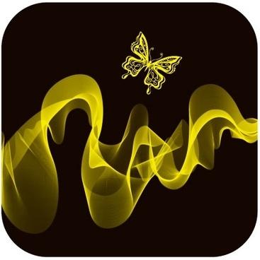 brilliant neon butterfly 03 vector