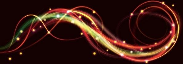 brilliant neon effects 02 vector