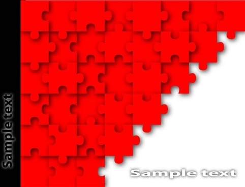 brilliant puzzle 02 vector