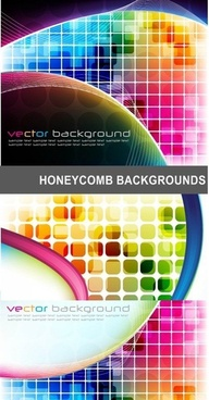 brilliant science and technology background vector