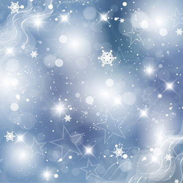 blue snowflake winter wonderland background free vector. Black Bedroom Furniture Sets. Home Design Ideas