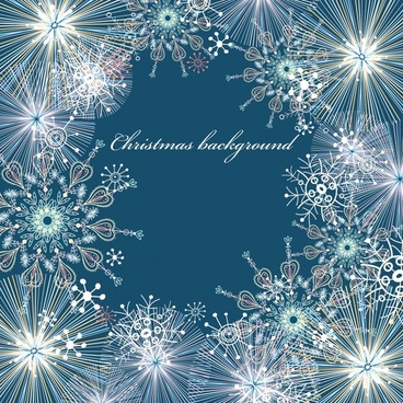 brilliant white snow snowflake pattern pattern background vector
