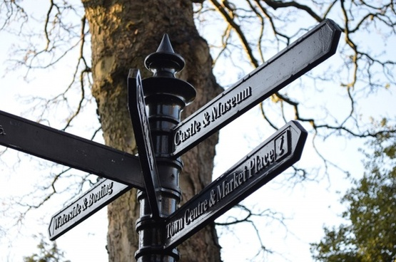 british signpost
