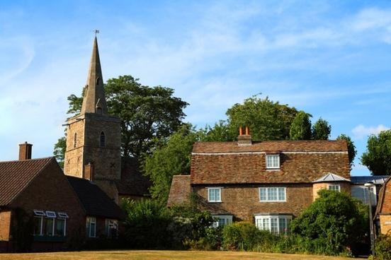 british village architecture