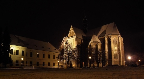 brno czech republic night