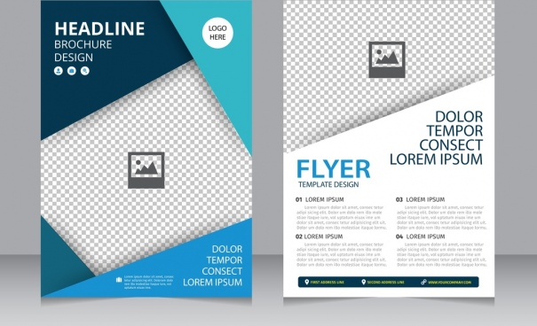 Brochure design vector vector | free download.