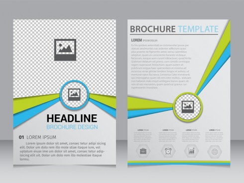 brochure design template vector free download free vector download