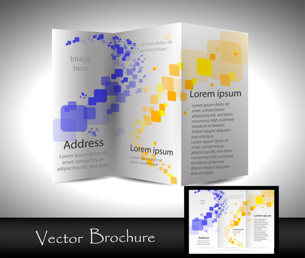 Brochure template coreldraw free vector download 17 422 for Coreldraw brochure templates