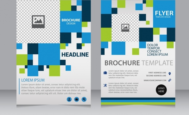 Brochure Free Vector Download Free Vector For Commercial Use - Brochure blank template