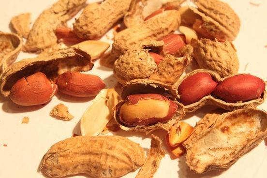 broken peanut roasted