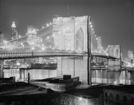 brooklyn bridge 1982 new york city