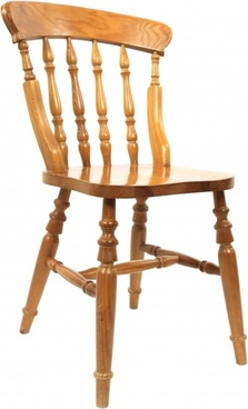 brown carving chair