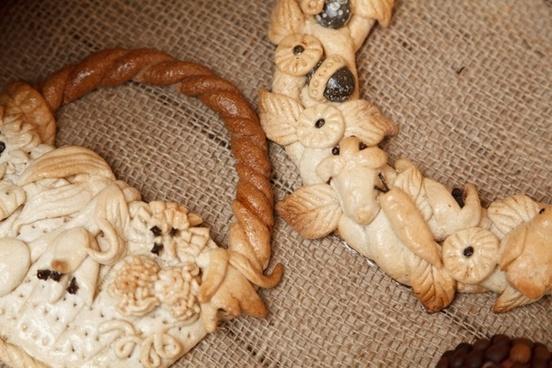 brown ceramic decoration