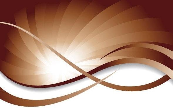 brown dynamic lines of the background vector 4