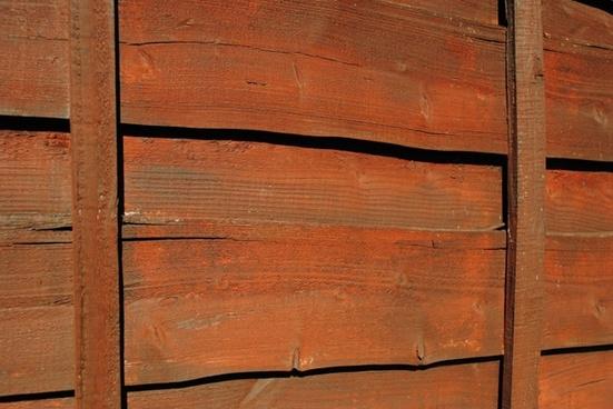 brown garden fence