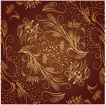 brown ornaments vector backgrounds art