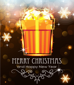 brown style15 christmas and new year background