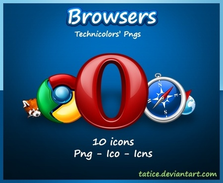 Browsers Icons icons pack