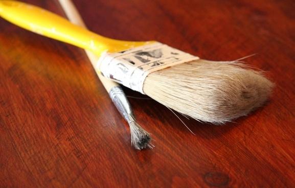 brush paint surface