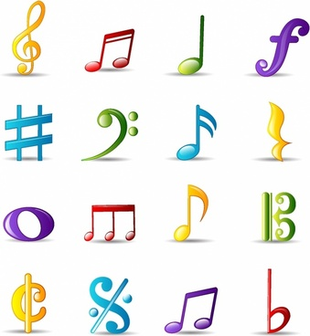 Bubble Icon Series | Musical Notes