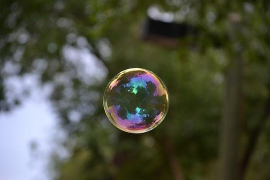 bubble soap nature