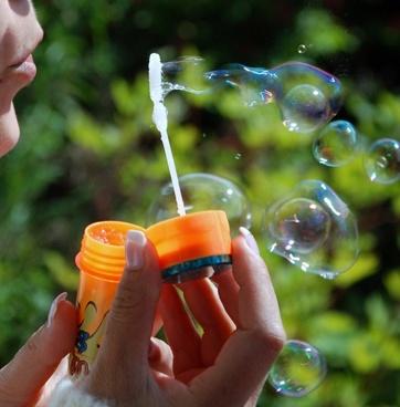 bubbles air light