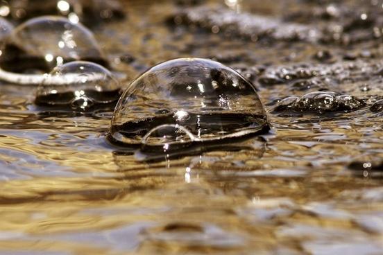 bubbles water fountain