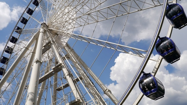 budapest giant ferris wheel tourist attractions
