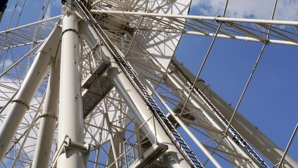 budapest giant ferris wheel works