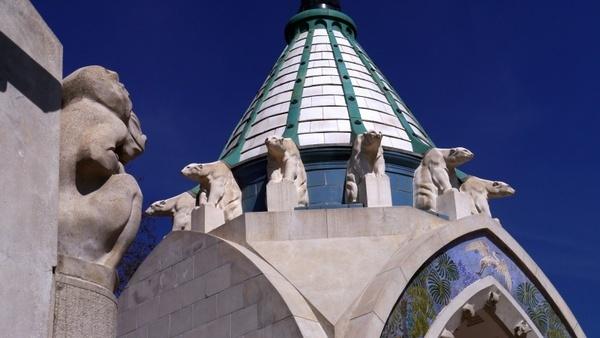 budapest zoo entrance