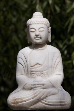 buddha figurine marble