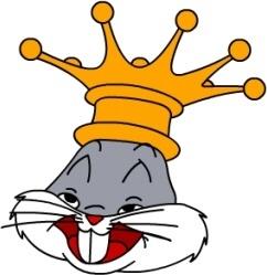 Bugs Bunny King