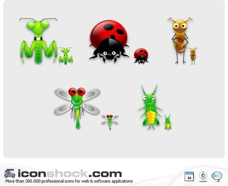 Bugs sigma style Icons icons pack