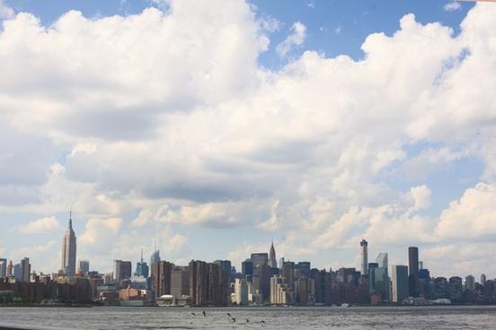 building chrysler building city cloud dock empire
