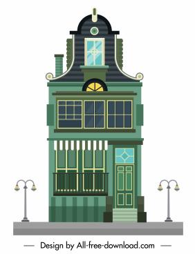 building facade template classic elegant european decor